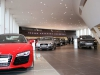 Der Showroom vom Audi terminal