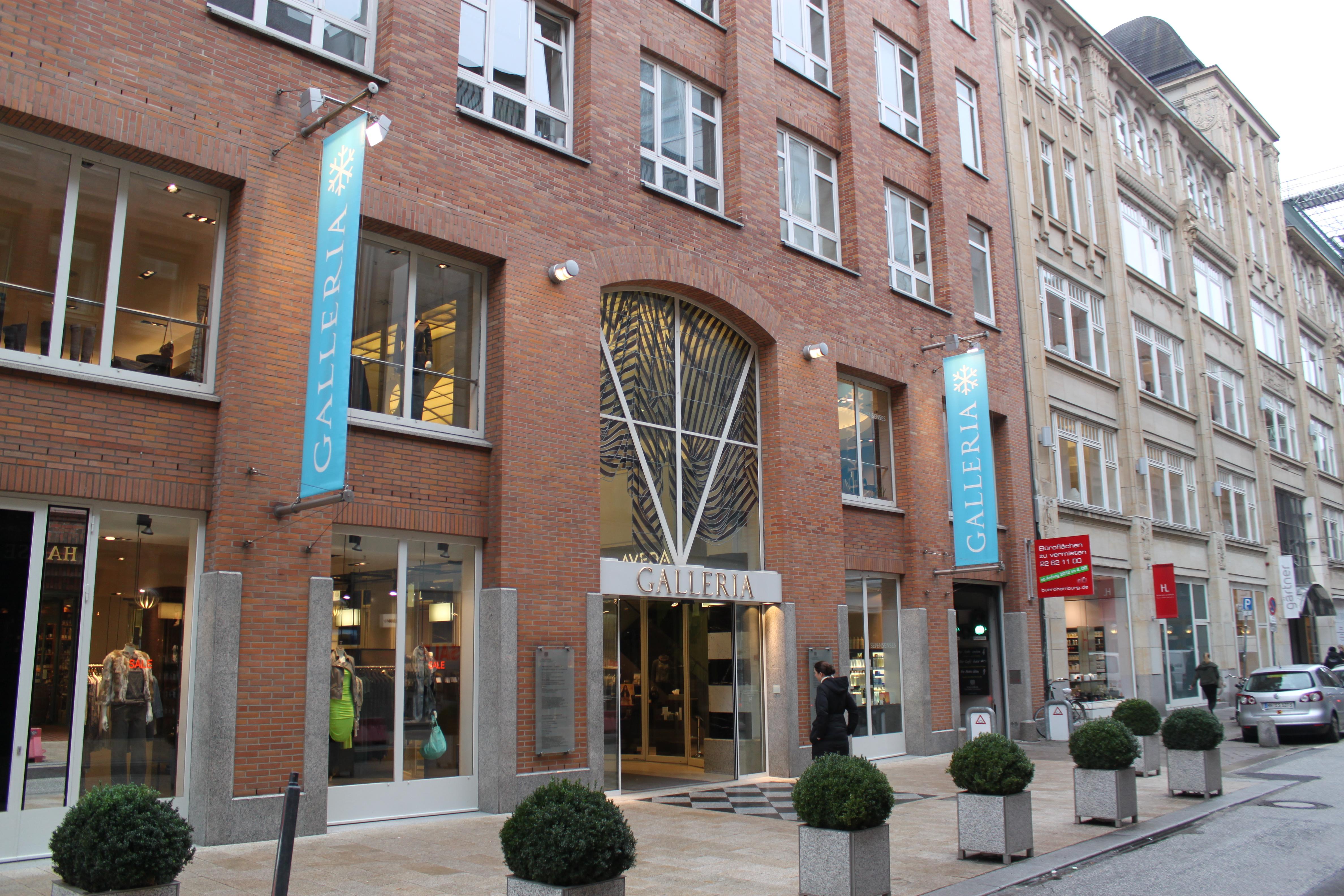 Die Galleria Hamburg Die Feine Einkaufspassage Mit Edler