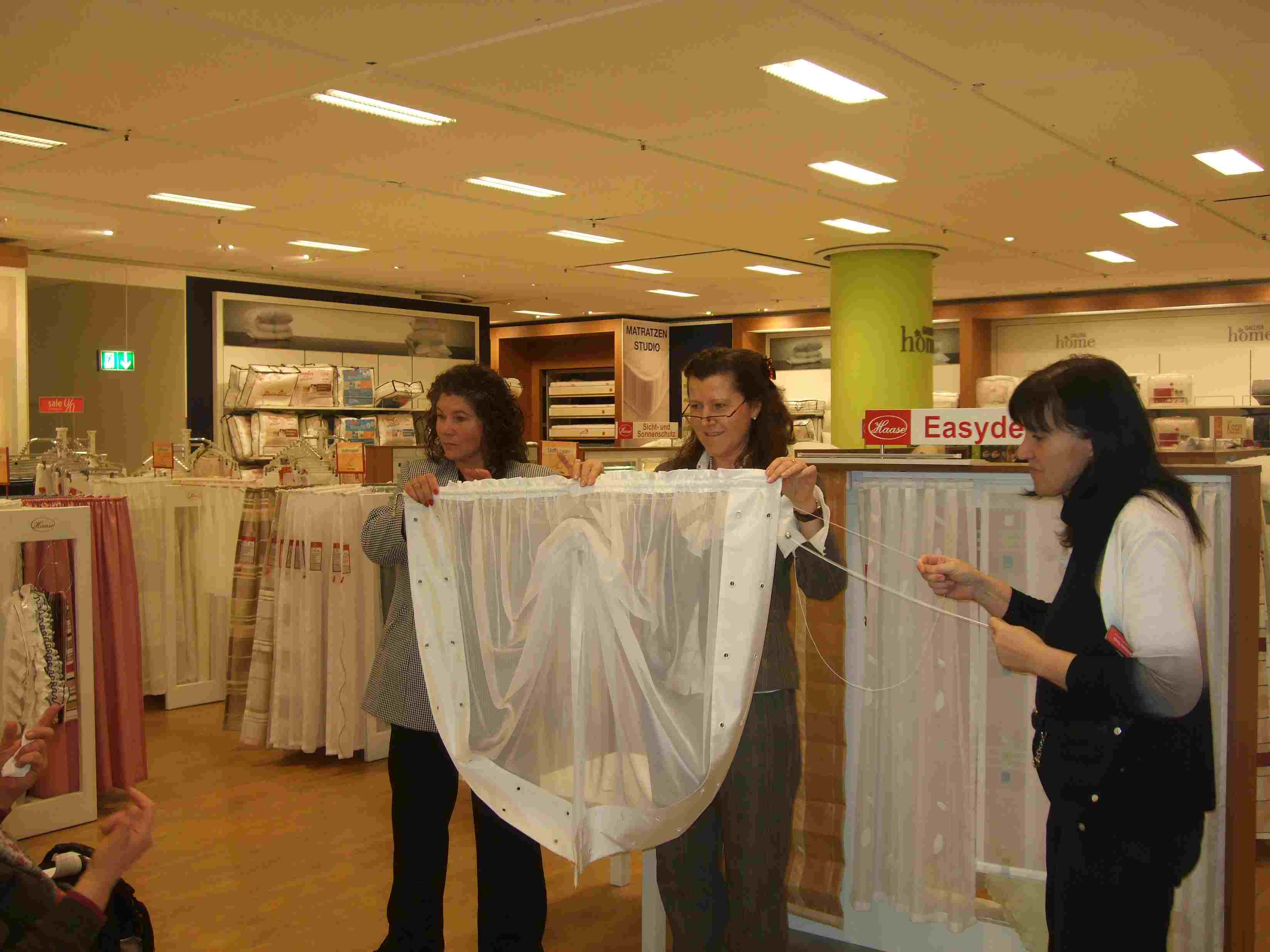 Gardinen Haase gardinen haase präsentation der winterkollektion 2011 2012 in