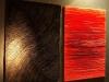 Arbeiten auf der Vernissage Rouge & Noir