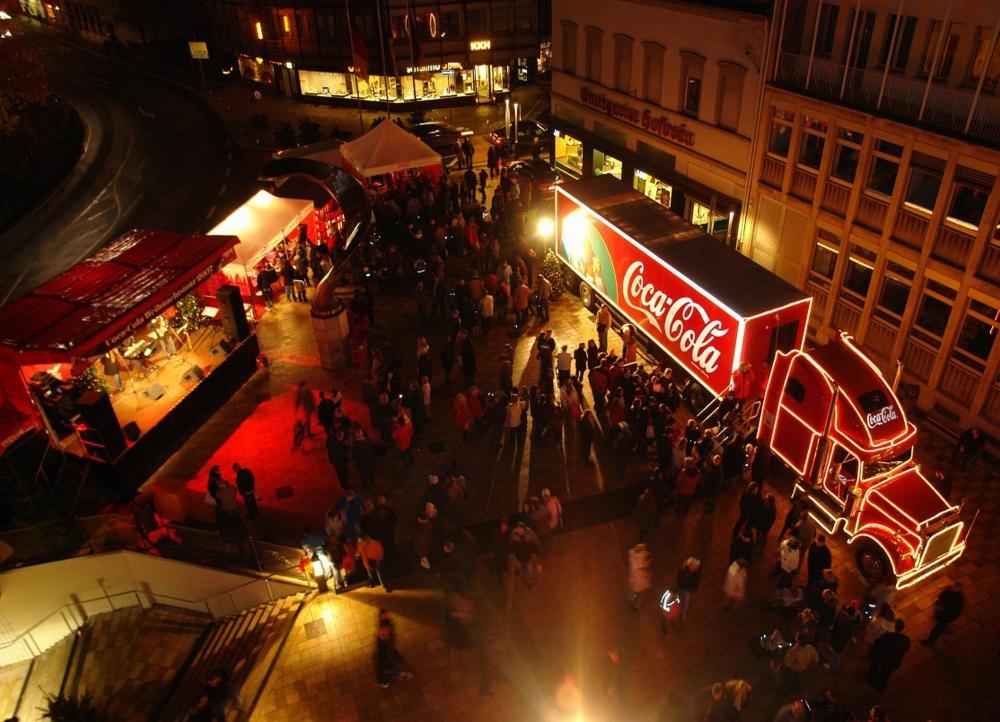 Coca-Cola Weihnachts-Trucks