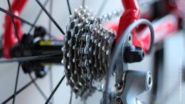 Gangschaltung an einem Fahrrad
