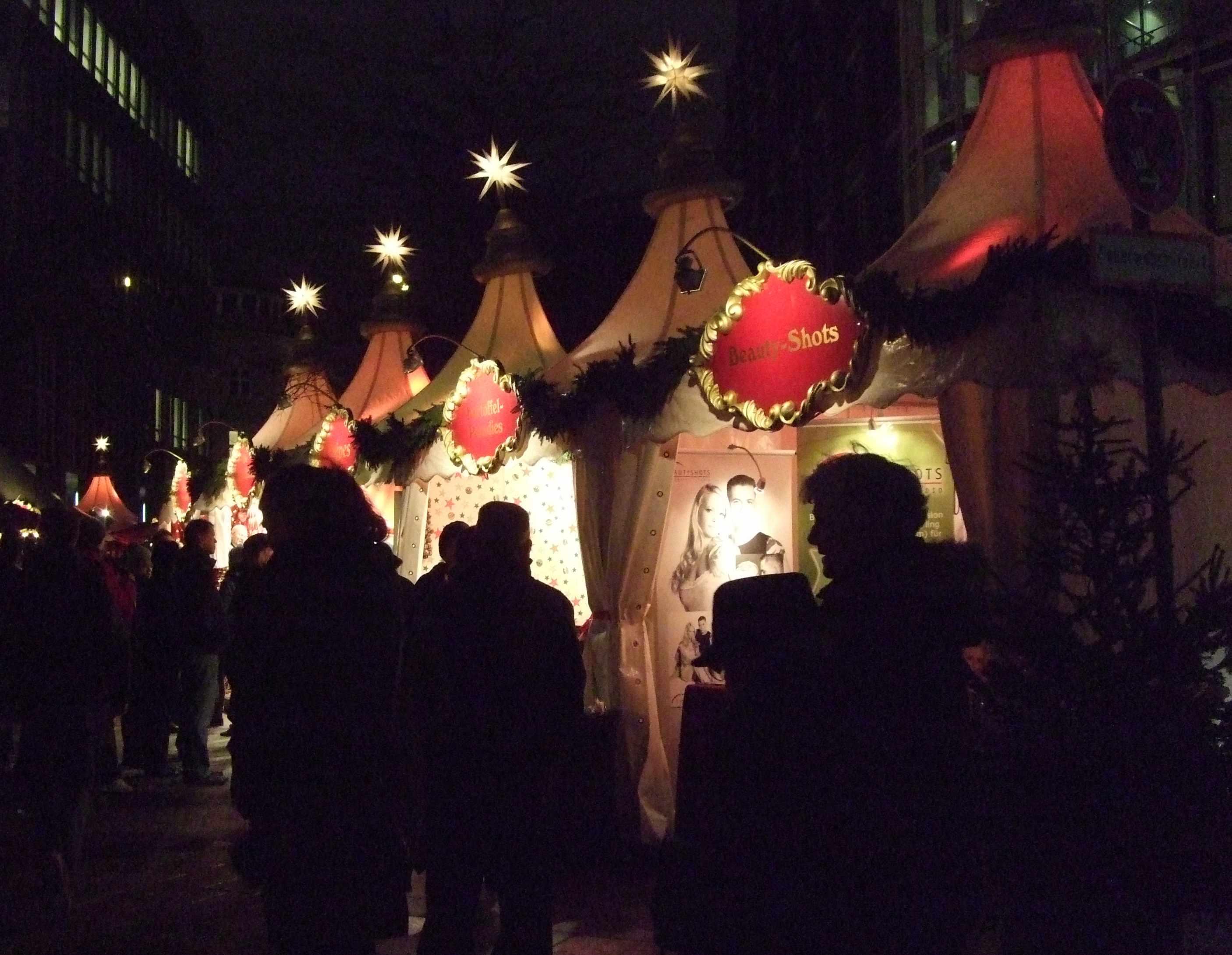 Der Fleetinsel Weihnachtsmarkt