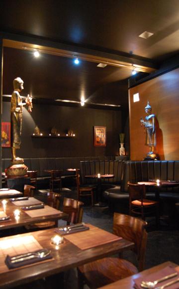 Das Restaurant BEN in Hamburg - Innenansicht