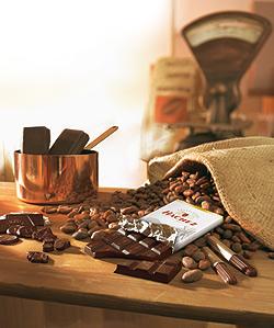 Hachez Choco Küche mit Schokolade