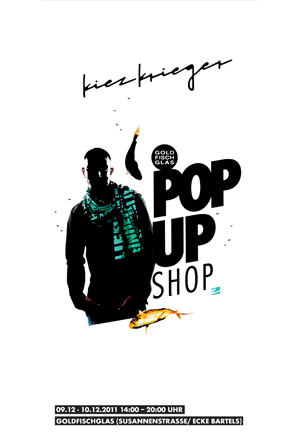 Der Pop up Shop von Kiezkieger Hamburg