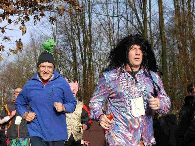 Läufer beim Sylvesterlauf 2012 Hamburg Volksdorf