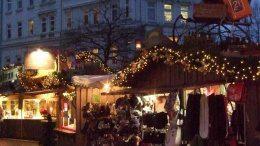 Der Weihnachtsmarkt beim Hauptbahnhof