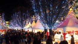 Jungfernstieg - der Winterzauber Weihnachtsmarkt