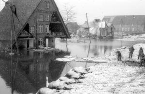 Überflutungen in Moorburg
