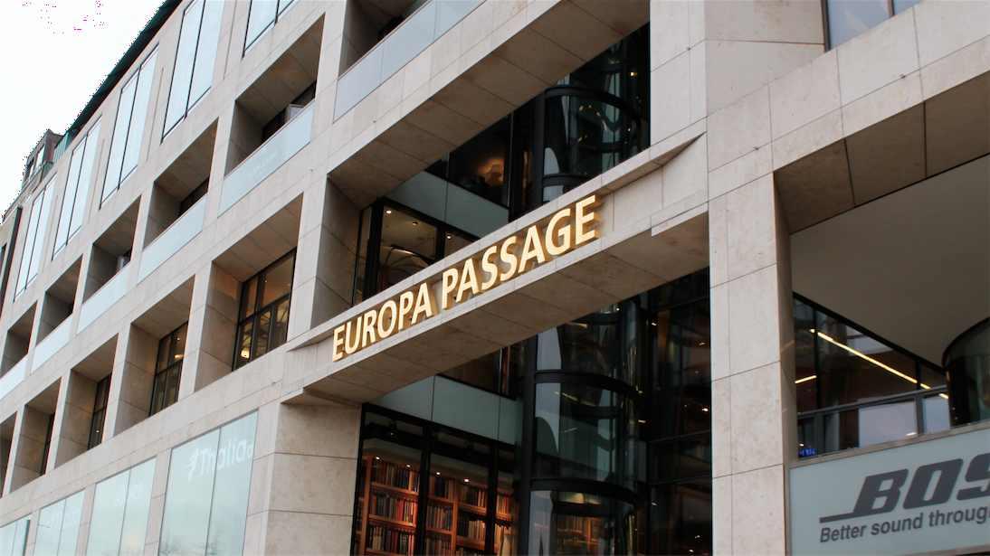 Eingang zur Europa Passage
