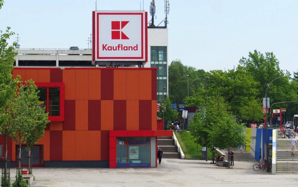 Der Kaufland Verbrauchermarkt Hamburg Langenhorn