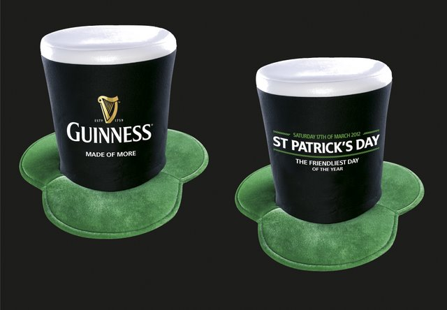 Guinness St. Patrick's Day Hüte