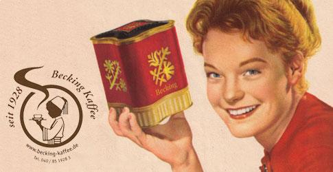 Romy Schneider Kaffee Werbung