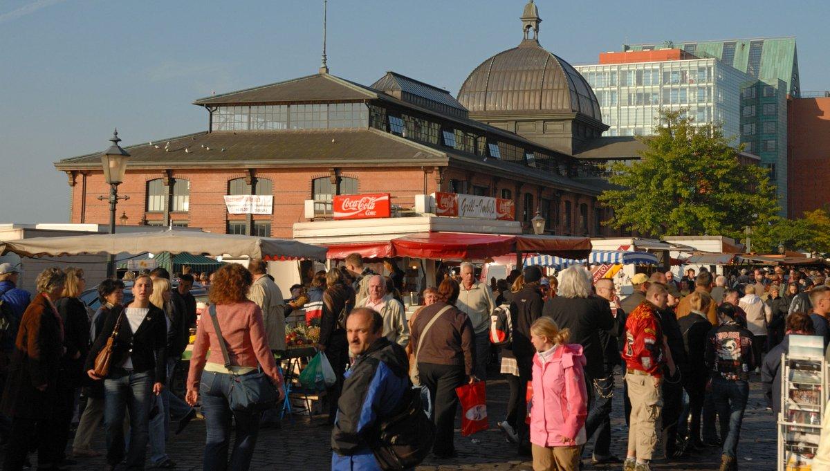 Fischmarkt Hamburg Corona