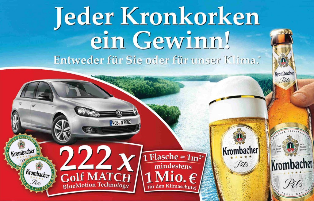 Krombacher Aktion