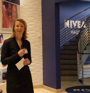 Christin Lüdemann Geschäftsführerin Nivea Haus Hamburg © Norbert Schmidt 2012