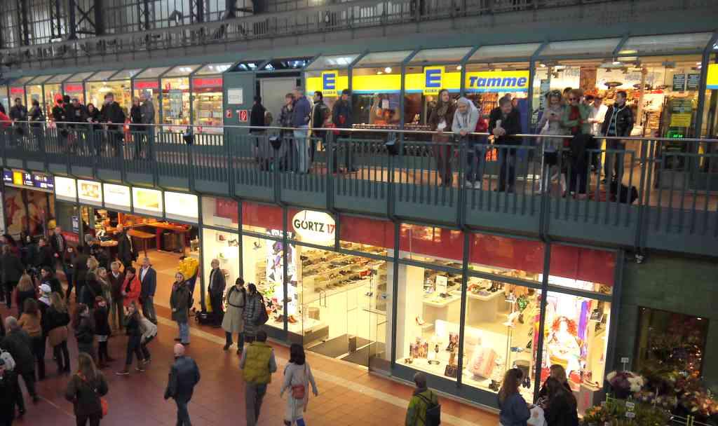Sonntags einkaufen in der Wandelhandel kein Problem © ganz-hamburg.de