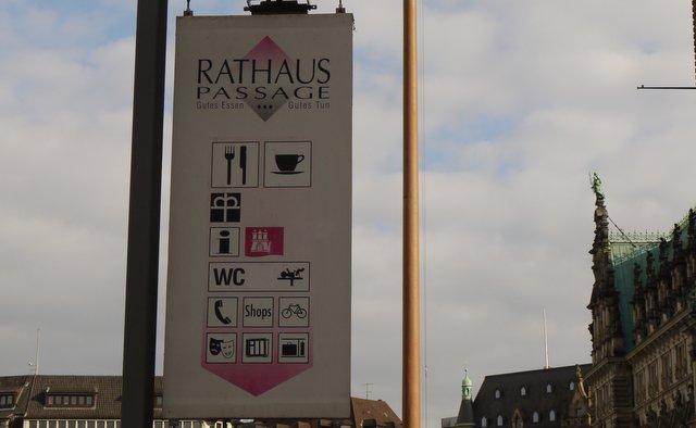 Rathaus Passage Hamburg (c) Norbert Schmidt