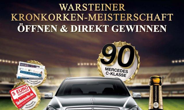 Warsteiner Kronkorken Meisterschaft 2012