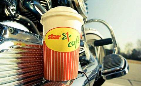 Gratis Kaffee an Star Tankstellen für Biker am Samstag und Sonntag (c) ots star