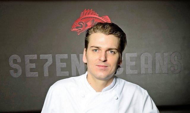Sebastian Andrée der neue Küchenchef im Seven Oceans, Hamburg (c) Seven Oceans