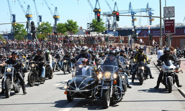 Harley Days in Hamburg © UBA Hamburg