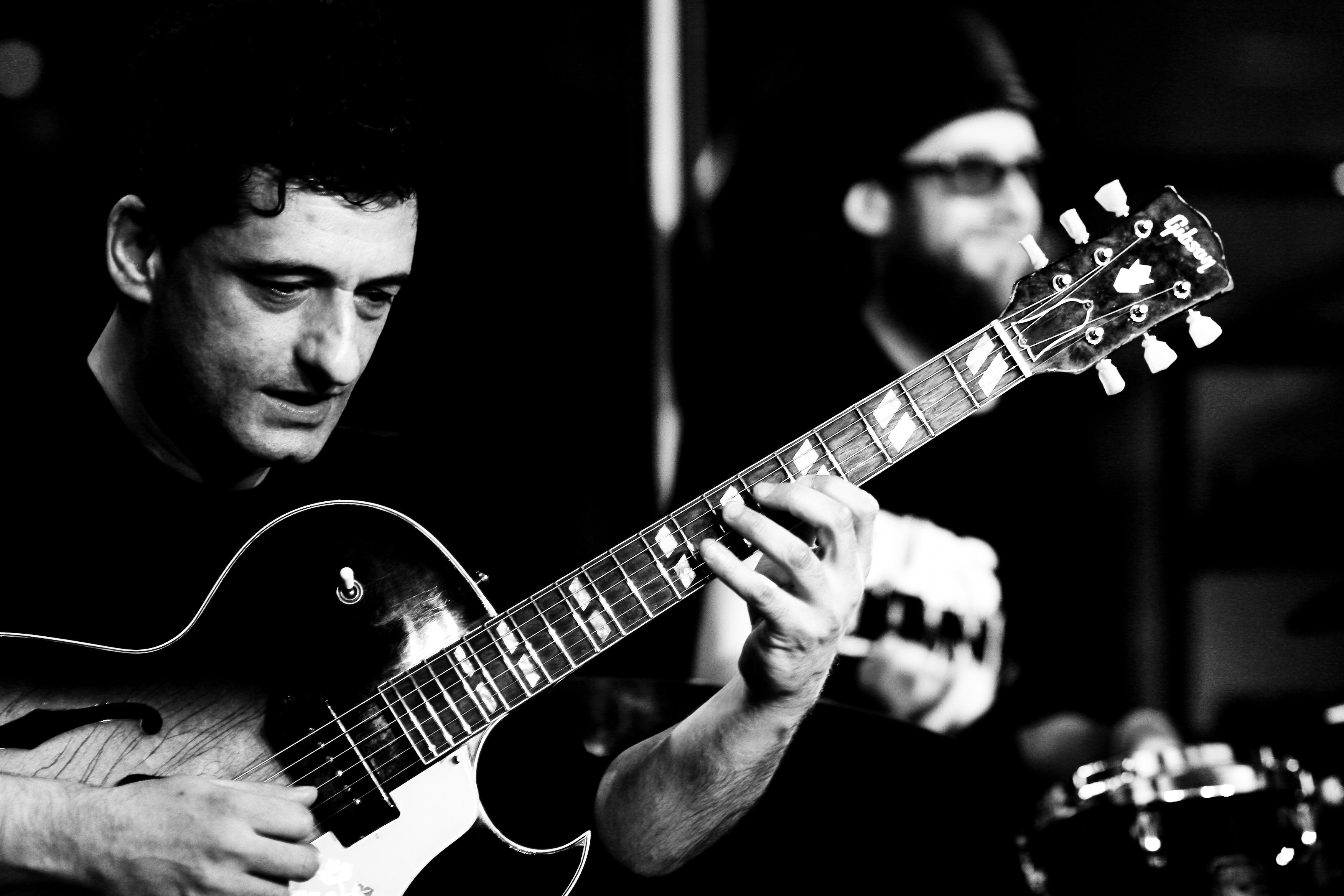 Massoud Godemann am 08.06.2012 im Klub.K in Hamburg © Steffen Gottschling