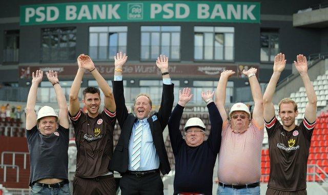 Startschuss für das PSD FanPaket(c) Bank