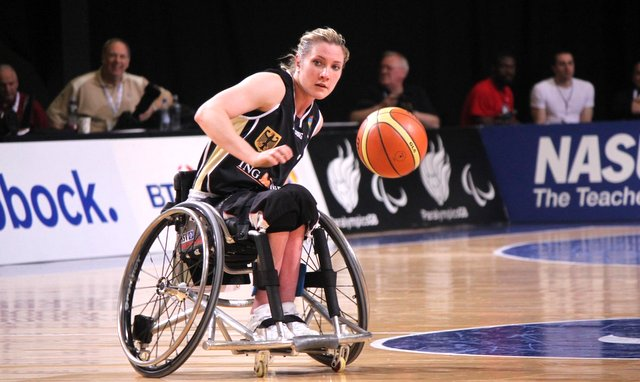 Edina Müller Champion aus Hamburg (c) HSV Rollstuhlsport