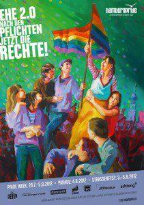 Hamburg Pride 2012 - Nach den Pflichten jetzt die Rechte