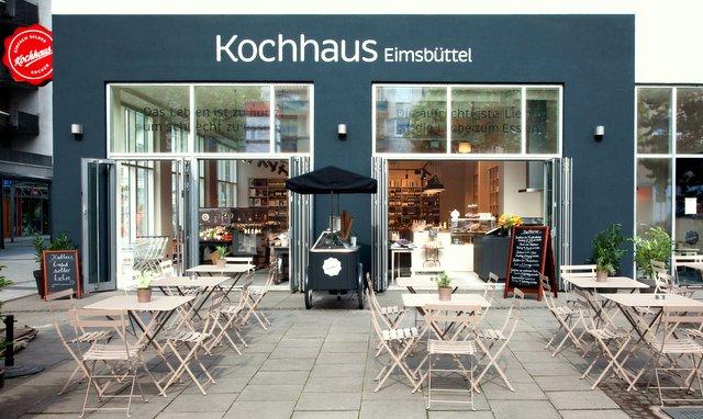 Kochhaus Hamburg Eimsbüttel Außensicht (c) Kochhaus
