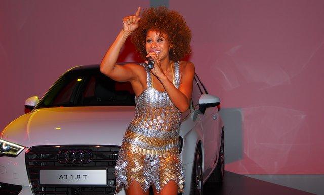 OCEANA begeisterte die Gäste bei der Präsentation des Audi A3 © ganz hamburg