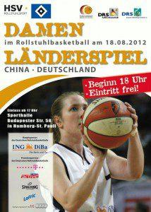 Damen Länderspiel Deutschland : China