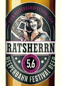 Ratsherrn Reeperbahn Festival Beer 2012 (c) Brauerei
