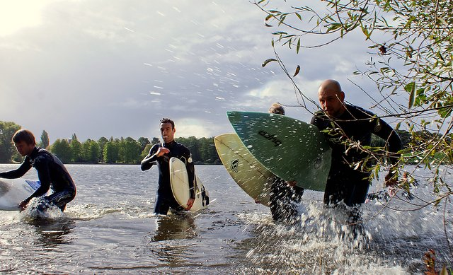 4. Coldwater Charity Challenge Hamburg Stadtparksee - Foto: Veranstalter