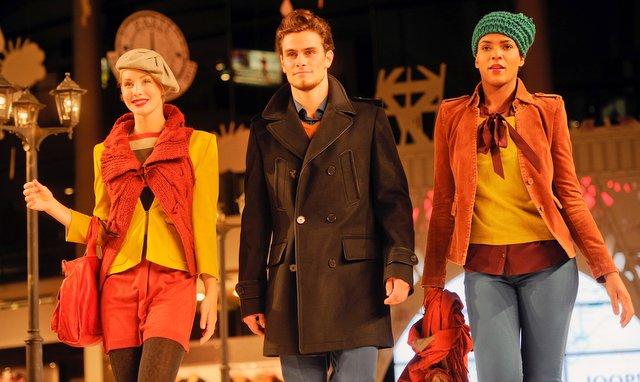 Herbst Modenschau dodenhof Kaltenkirchen Foto: dodenhof