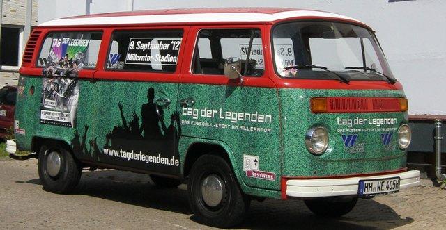 Oldtimer Bully von Auto Wichert für NestWerk und Tag der Legenden (c) Auto Wichert