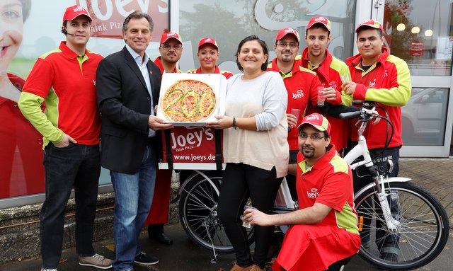 Eröffnung von Joey's Pizza in Hamburg Schenefeld © Joey's Pizza