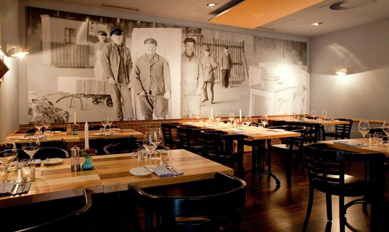 Neue nordische Küche im Speicher 52 in der ABC-Straße Foto: Hotel