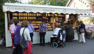 Andreas Boomers Gourmet Stand mit edlen Gewürzen Foto: ganz-hamburg.de