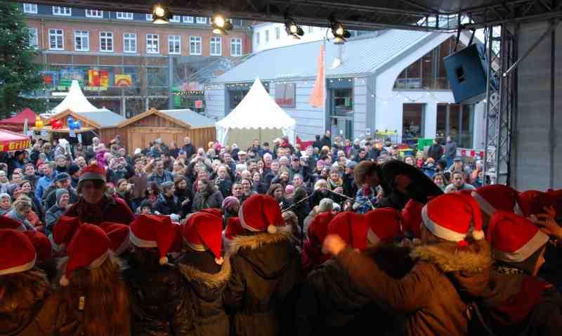 Alsterdorfer Advent - eine Million Bauherren gesucht
