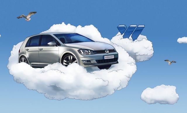 Auto Wichert - Der neue Golf auf Wolke 7 Foto: Hersteller