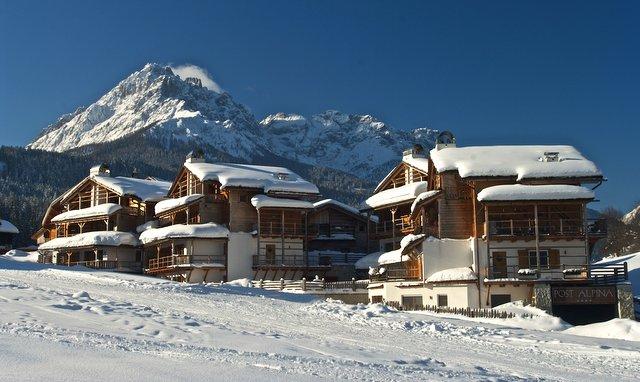 Das Dolce Vita Family Chalet Post Alpina**** in Innichen Foto: Hotel