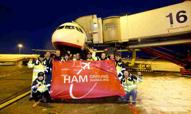 Demo Airport Hamburg Groundhandling in Strassburg