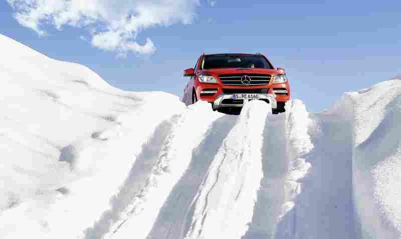 Mercedes-Benz Driving Events: Offroad Training Kitzbühel Foto: Hersteller