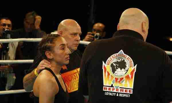 Meryem Uslu und Trainer Lutz Burmester Foto: Veranstalter
