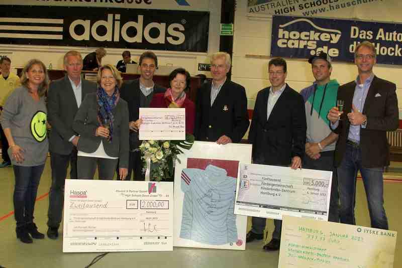 Das Spendenfinale 7. Juli Harnack Turnier mit Johannes B. Kerner Januar 2012 Foto: Veranstalter