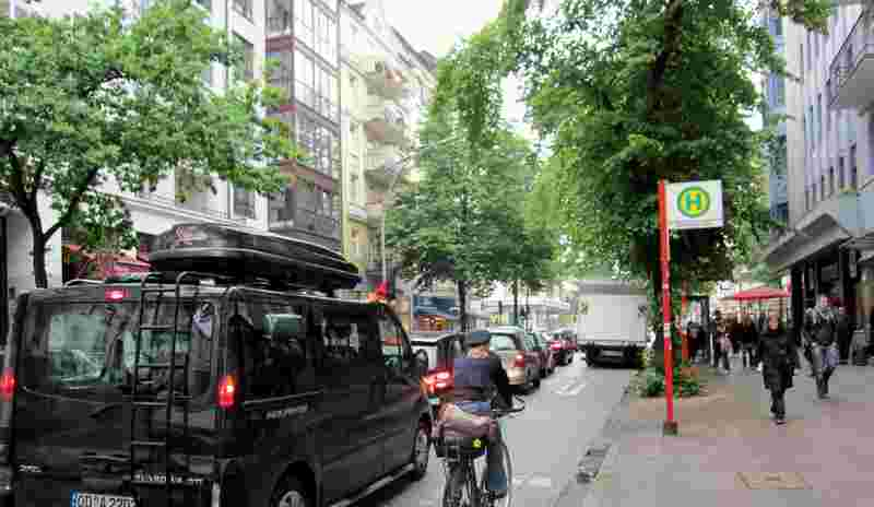 Fahrradfahren in Hamburg