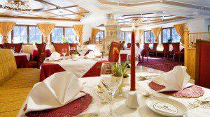 Restaurant im Falkensteiner Hof Vals Foto: Hotel